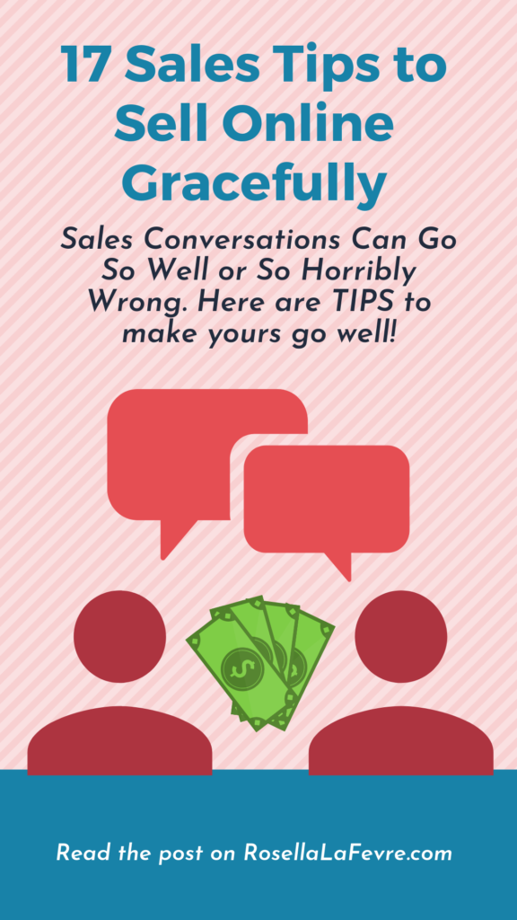 17 Sales Tips to Sell Online Gracefully